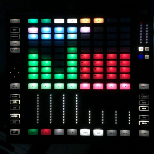 Stems Step sequencer mapping