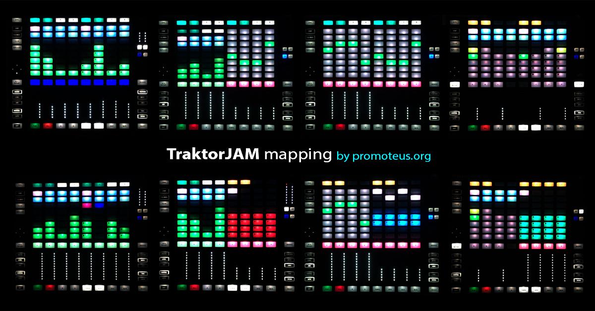 maschine traktor remix deck mapping